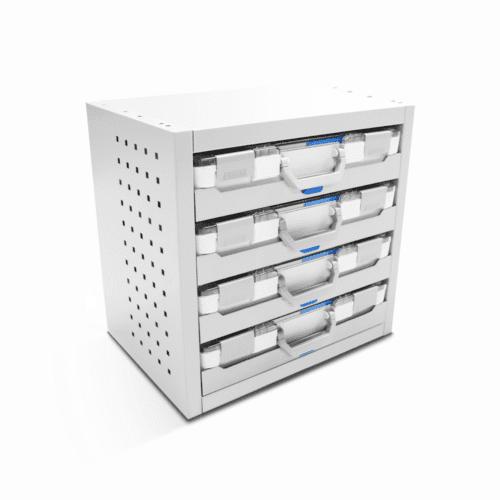 Service-System bedrijfswageninrichting STKB-US - Voordelige inrichting - modulaire opbouw - kasten, ladeblokken en accessoires