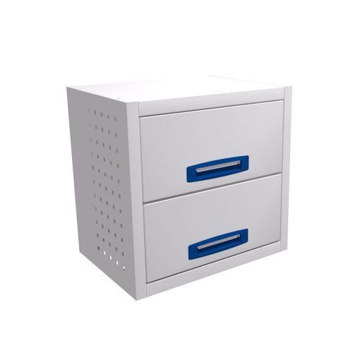 Service-System bedrijfswageninrichting STLB-507-2 - Voordelige inrichting - modulaire opbouw - kasten, ladeblokken en accessoires