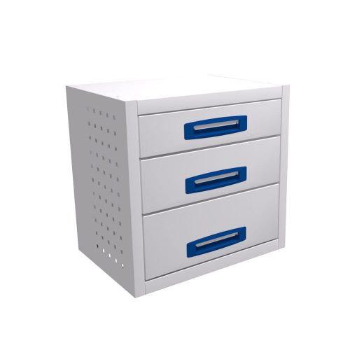 Service-System bedrijfswageninrichting STLB-507-3 - Voordelige inrichting - modulaire opbouw - kasten, ladeblokken en accessoires
