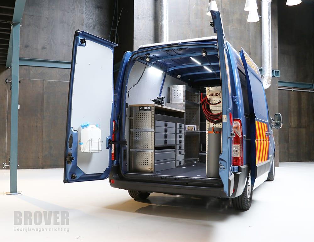 Brover Bedrijfswageninrichting - Aluca - Transport - Theo Faassen