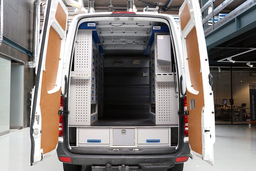 Brover Bedrijfswageninrichting - Service-System - MIB Installatietechniek